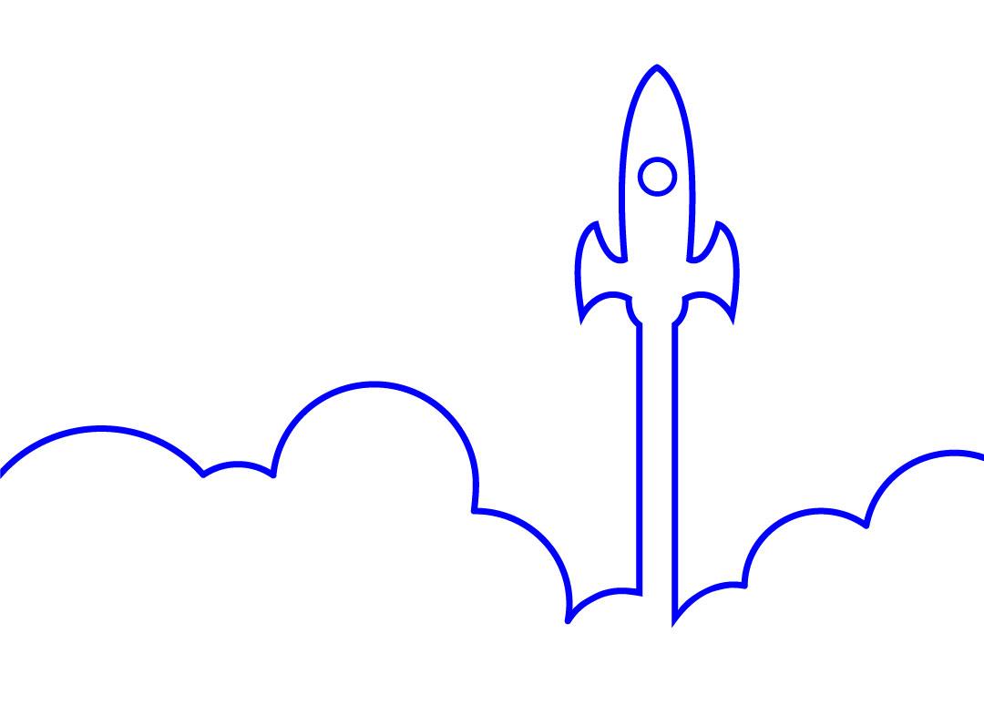 SEO Sight Rocket Blue