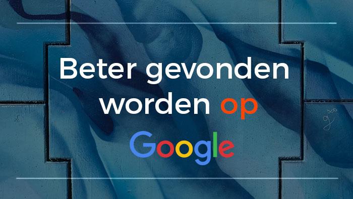SEO Sight Beter gevonden worden op Google 2