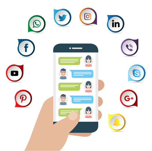 SEO Sight Mobile-Phone-with-Social-Icons