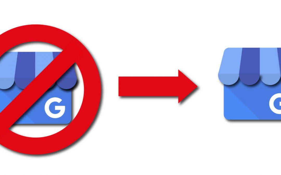 Google Mijn Bedrijf vermelding herstellen