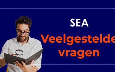 SEA Veelgestelde vragen