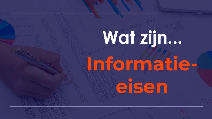 Informatie-eisen