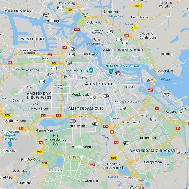 Map SEO Den Haag