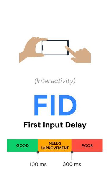 Web vitals FID